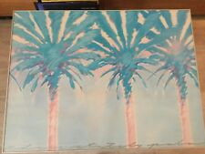 Margo Goodwill, Three Stately Palms,  Kunstdruck, Bild 80cm x 60cm hoch