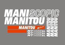 Sticker, aufkleber, decal - MANITOU MANISCOPIC MT 1435 SL
