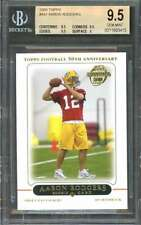 Aaron Rodgers Rookie Card 2005 Topps #431 Packers BGS 9.5 (9.5 9.5 9.5 9)