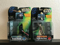Star Wars POTF Darth Vader & Ben (Obi-Wan) Kenobi Electronic Power F/X Set NEW