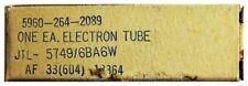 Jtl-5149/6ba6w pentode. radio tubo/vacío-electrones de Francia. id18