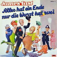 """7"""" JAMES LAST Alles hat ein Ende nur die Wurst hat zwei POLYDOR 1987 NEUWERTIG!"""