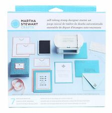 Martha Stewart Crafts Self-Inking Stamp Designer Starter Set