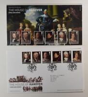 2011 ROYAL MAIL PRESENTATION FOLDER THE HOUSE OF HANOVER & FDC LOT 405*