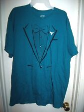 Port and Company Teal Tuxedo T-Shirt Hornets Home Opener 2015 Lowe's Size XL
