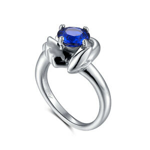 Lugia Sterling 925 Silver Engagement Ring