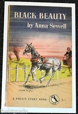 BLACK BEAUTY by Anna Sewell Postcard