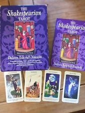 The Shakespearian Tarot Full Deck Of 78 Cards Vintage First Edition Nowicki