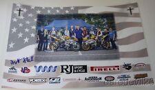 2015 Scott Stall signed Yamaha YZF-R6 600 Daytona 200 ASRA poster