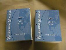 2010 Ford Flex Workshop Service Manual Volume 1 & 2 Factory Book