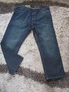 Mens TU Blue Denim Jeans Loose Fit Size W40 L30 BNWOT AWESOME