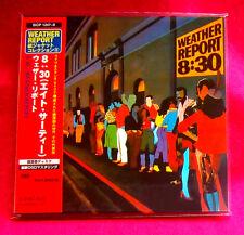 Weather Report 8:30 2 MINI LP CD JAPAN SICP-1247-48