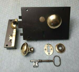 Carpenter & Co. Patentees Rim Lock Restored