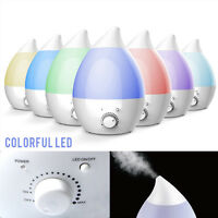 2L Ultrasonic Air Humidifier Home Aroma Purifier Atomizer Diffuser Vaporiser