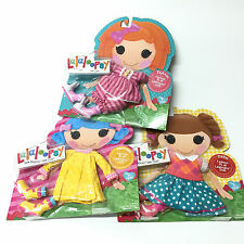 3pcs LALALOOPSY FASHION PAJAMAS/RAINCOAT/DRESS SUIT & SHOES FULL SIZE DOLL CLOTH