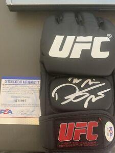 Dustin Poirier Autographed Signed UFC Glove PSA COA