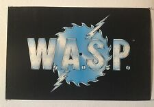 Rare Vintage W.A.S.P. Black Light Poster 100% Authentic