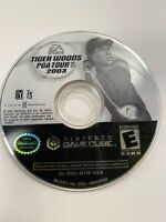Tiger Woods PGA Tour 2003 (Nintendo GameCube, 2002) Loose Disc Only