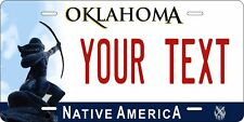 Oklahoma 2009 Tag License Plate Personalized Auto Car Custom VEHICLE OR MOPED