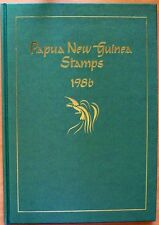 1986 PAPUA NEW GUINEA YEAR BOOK MINT STAMPS