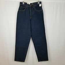 Women's Vintage 90s Calvin Klein Jeans Size 10 Blue/Black Baggy Fit Relaxed Mom