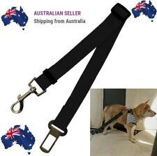 BLACK Adjustable Pet Dog Safety Car Vehicle Seat Belt Harness Lead Pet Seatbelt.
