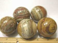Onyx sphere one all natural 2 inch diameter banded onyx one sphere per winner