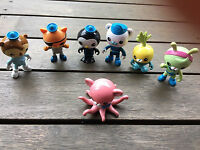 1 Piece The Octonauts Crew Characters action figure toy doll Toy Many choice