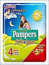 PAMPERS Sole Luna 4^ Misura 7-18Kg - 108 Pannolini Offerta