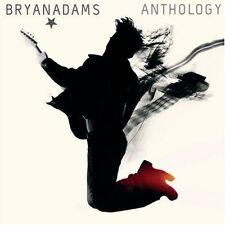 BRYAN ADAMS (ANTHOLOGY - GREATEST HITS 2CD SET SEALED + FREE POST)