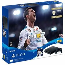 NEW PlayStation 4 Console System FIFA 18 Pack JAPAN Japanese game