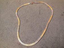 (02528) festliche Halskette - Trendig - Bicolor -