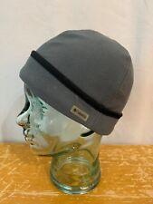 Columbia Unisex Adult  Small Gray Fleece Beenie Cap Hat