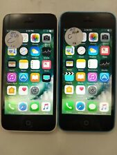 Lot of 2 Apple iPhone 5c A1532 At&T Check Imei Fair Condition Ip-1657