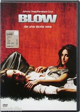 Dvd Blow con Johnny Depp e Penélope Cruz 2001 Usato