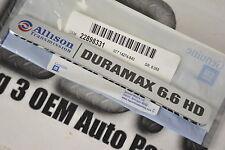 2011-2014 Chevrolet Silverado Hood Side Emblem Allison Transmission Duramax OEM