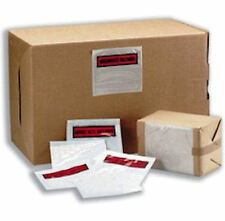 1000 x A6 'Documents Enclosed' Invoice Address Wallets 160x110mm Self Adhesive