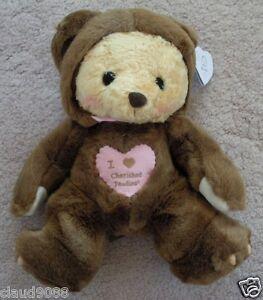 "CHERISHED TEDDIE PLUSH   ""GRUMPS PLUSH BEAR"" 790613 MINT & REDUCED"