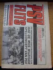 21/08/1993 PSV Eindhoven v Go Ahead Eagles [Newspaper Issue] (Folded). No obviou