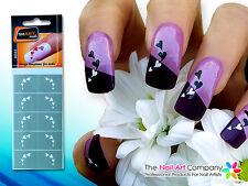 SmART-Nails - String of Hearts Nail Art Stencils N044 Professional Nail Product