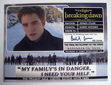 Twilight Breaking Dawn Part 2 Quote Card 3 cards per set ~ Rare / New