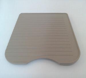Elddis caravan or motorhome kitchen sink beige plastic drainer draining board