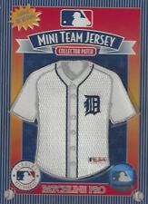"Detroit Tigers Mini Jersey 4""x4"" Team Patch Discontinued Item Great 2 Frame"