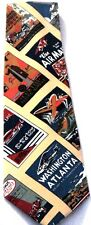 New Flying Air Transportation Airline Service Men's Novelty Necktie Neck Tie