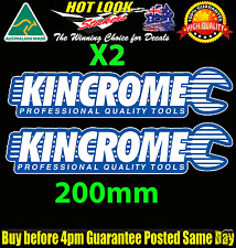 Kincrome Tools 2 colour Sticker Decal Suit JDM Hoon Spanner Socket Set Tool Box