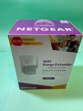 NETGEAR Ac750 Wireless WiFi Dual Band Range Extender Repeater EX3700