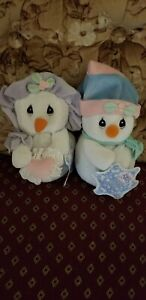 precious moments tender tails plush 2000 Theres Snow One Like You Snowman &...