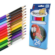 Thornton's Art Supply Premier Soft Core 24 Piece Artist Grade Colored Pencils