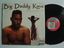 BIG DADDY KANE Taste of Chocolate HIP-HOP LP Shrink COLD CHILLIN'