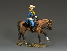 KING & COUNTRY THE REAL WEST TRW137 U.S. CAVALRY MOUNTED TROOPER A MIB